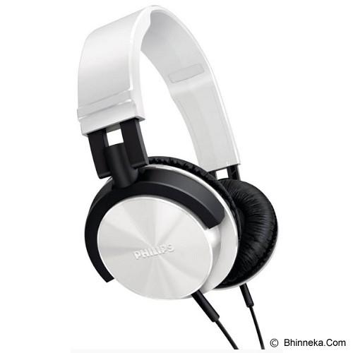 PHILIPS DJ Monitor Style Headphones [SHL 3000WT] - White - Headphone Full Size